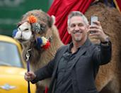<p>Lineker will chat football till the camels come home. Well, for £25,000 he will.</p>
