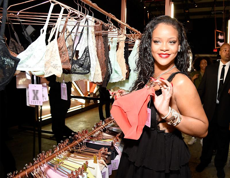 Step up your lingerie game with Rihanna's Savage X Fenty line. (Photo: Getty Images)