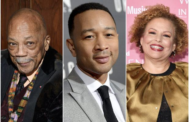 Quincy Jones, John Legend, Debra Lee to Serve as Honorary Chairs on Recording Academy's Black Music Collective