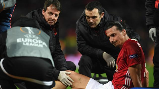 Manchester United have announced that striker Zlatan Ibrahimovic and defender Marcos Rojo have suffered serious knee injuries.