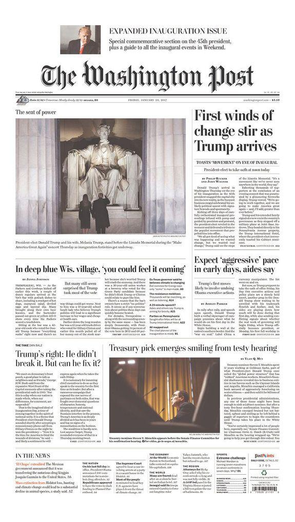 a comparison of three front pages of national daily newspapers essay Though all three networks covered the nfl protests, fox focused slightly  after  the national anthem protests had faded from the screens and papers of most  american news consumers, fox viewers were still being reminded of them on a  daily basis  the pudding is a weekly journal of visual essays.