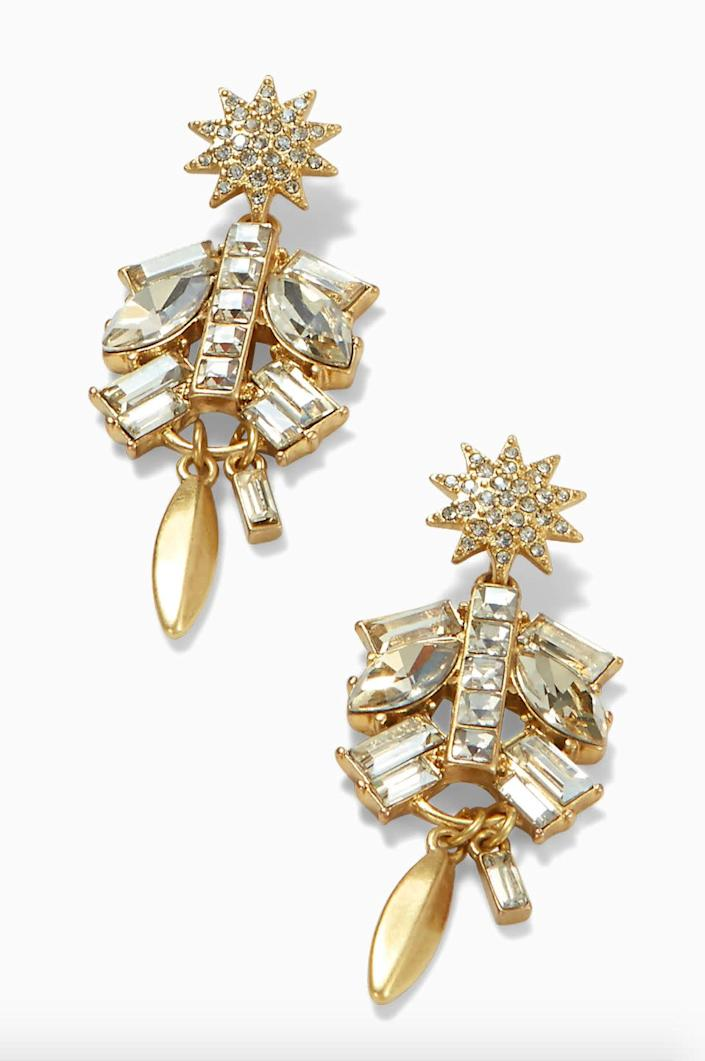 """<strong><a href=""""https://www.stelladot.com/p/campbell-chandeliers"""" rel=""""nofollow noopener"""" target=""""_blank"""" data-ylk=""""slk:Get the Stella &amp; Dot Campbell chandelier earrings for $49"""" class=""""link rapid-noclick-resp"""">Get the Stella &amp; Dot Campbell chandelier earrings for $49</a></strong>"""
