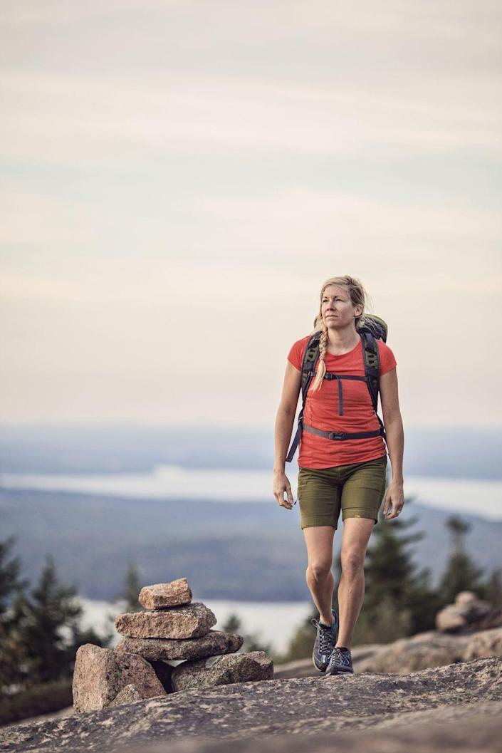 """<p>Being in nature — especially in motion — boosts mood, sharpens thinking, and makes you feel calmer and more generous. Time outdoors may also reduce levels of the stress hormone cortisol, says clinical exercise physiologist <a href=""""https://www.sunderland.ac.uk/about/staff/sport-and-exercise-sciences/paulinnerd/"""" rel=""""nofollow noopener"""" target=""""_blank"""" data-ylk=""""slk:Paul Innerd, Ph.D."""" class=""""link rapid-noclick-resp"""">Paul Innerd, Ph.D.</a>, of the University of Sunderland in the U.K.</p>"""