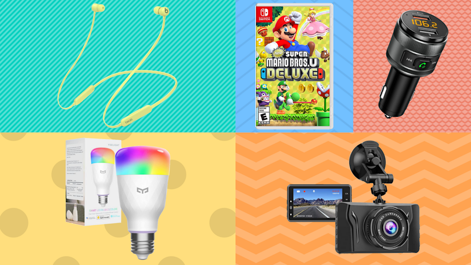 Score up to nearly 60 percent off everything from car chargers to video games. (Photo: Amazon)