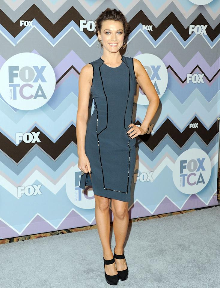 Natalie Zea arrives at the 2013 Winter TCA FOX All-Star Party at The Langham Huntington Hotel and Spa on January 8, 2013 in Pasadena, California.