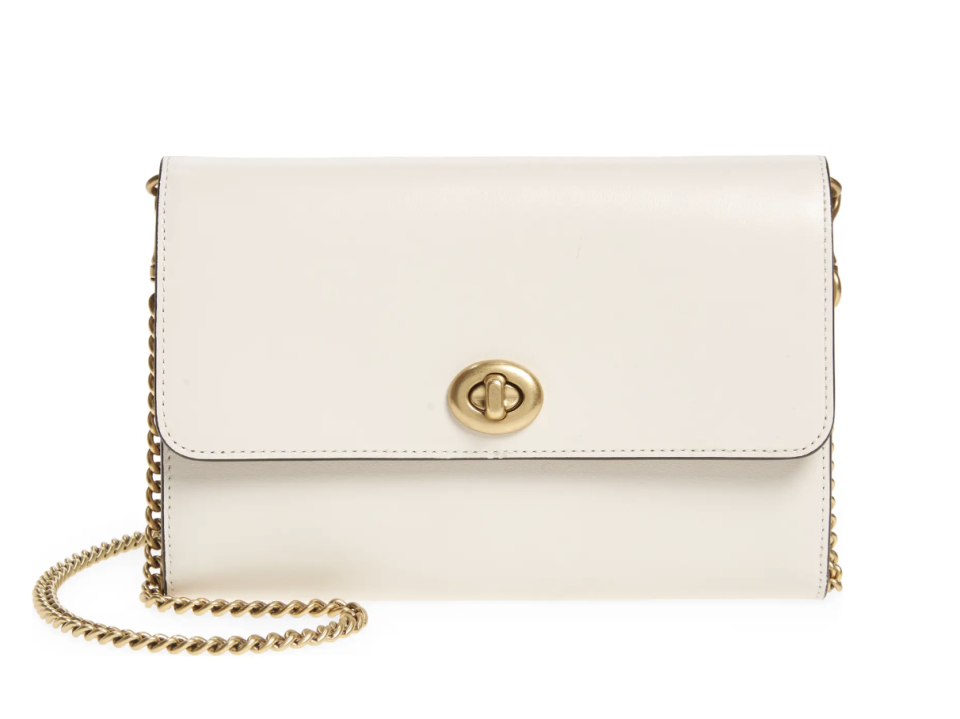 Marlow Leather Crossbody Bag in Chalk (Photo via Nordstrom Canada)