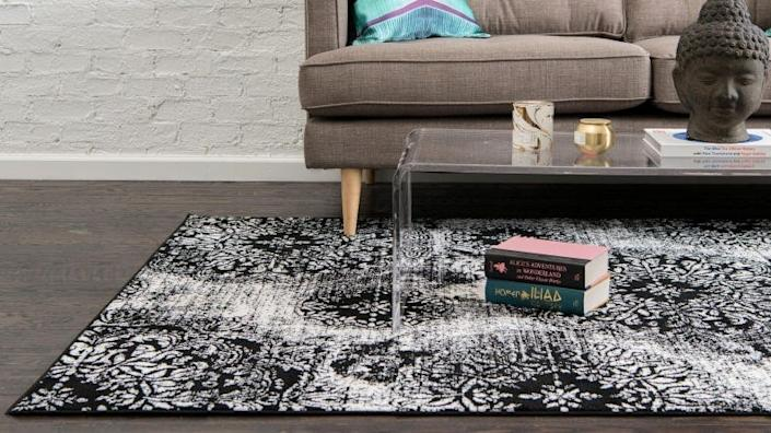 A pretty rug for under $50? Yes, really.