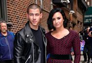 """<strong>""""After treatment, I had to have some time sober before I wasn't embarrassed to talk to [friend Nick Jonas]. The first time we saw each other since that tour was my [2012 Los Angeles] concert at the Greek [Theater]. We caught up right before the show, then performed. It was an emotional reunion — I got one of my best friends back.""""</strong> — to <a href=""""http://people.com/celebrity/demi-lovato-on-rekindling-her-friendship-with-nick-jonas-after-rehab/"""" rel=""""nofollow noopener"""" target=""""_blank"""" data-ylk=""""slk:Billboard"""" class=""""link rapid-noclick-resp""""><em>Billboard </em></a>"""