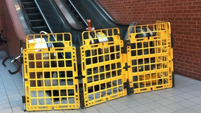 3rd time's a charm? Saint John escalators repaired, awaiting provincial inspection