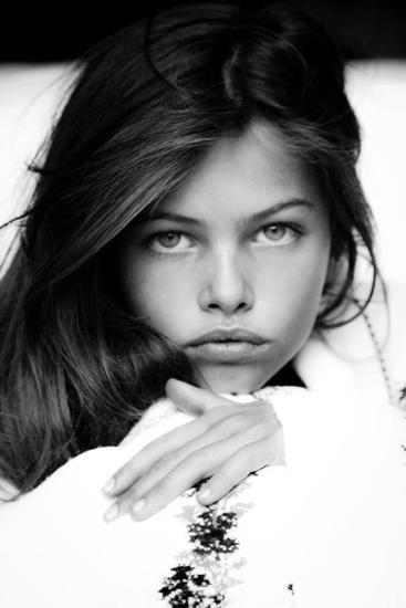 The model starred in this infamous Vogue Paris shoot at the age of 10 [Photo: Vogue Paris]