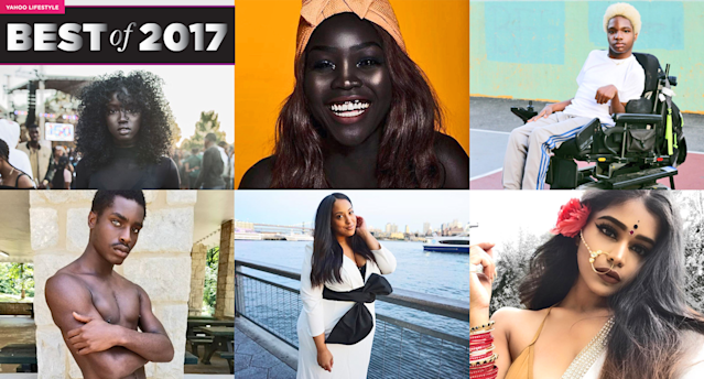 The internet gave these models of color props for overcoming odds. (Art by Quinn Lemmers for Yahoo Lifestyle)