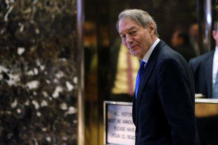 FILE PHOTO: Charlie Rose departs Trump Tower in the Manhattan borough of New York