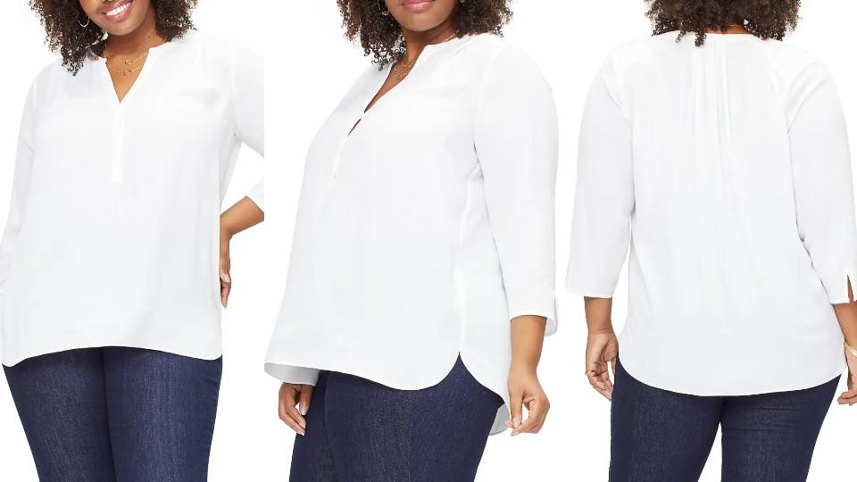 Curves 360 by NYDJ's Perfect Blouse - Nordstrom, $53 (originally $89)