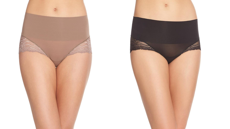 Underwear with extra coverage.