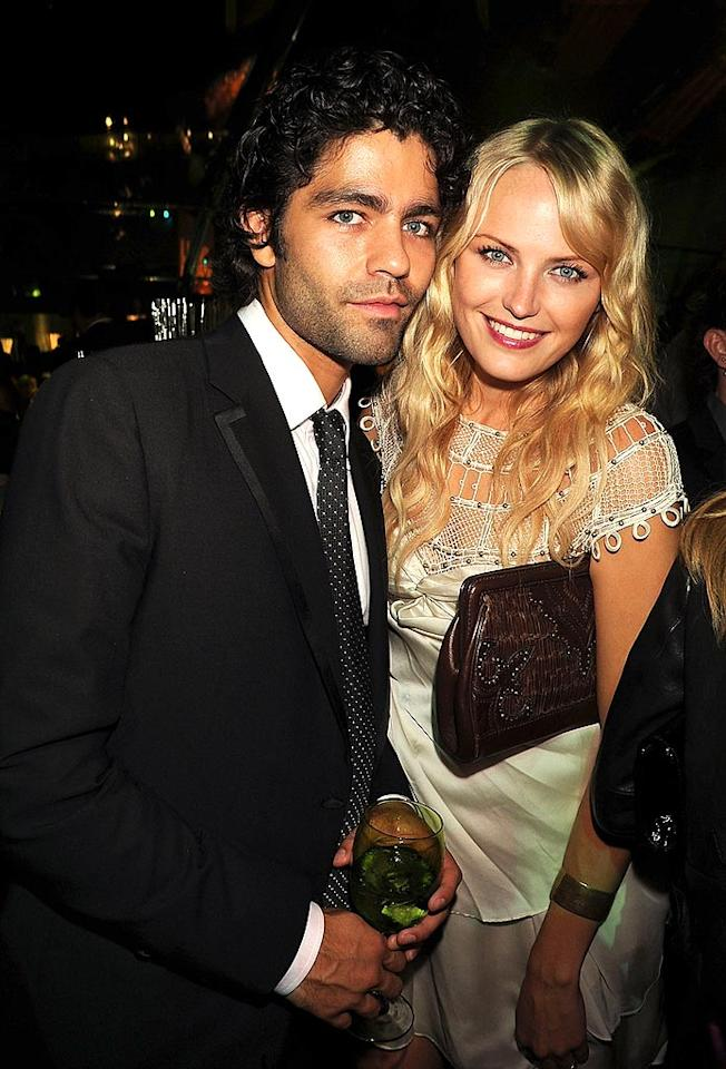 "The newly single Adrien Grenier and Malin Ackerman would make a stunning couple ... if only the actress wasn't married! Jeff Kravitz/<a href=""http://filmmagic.com/"" target=""new"">FilmMagic.com</a> - September 21, 2008"
