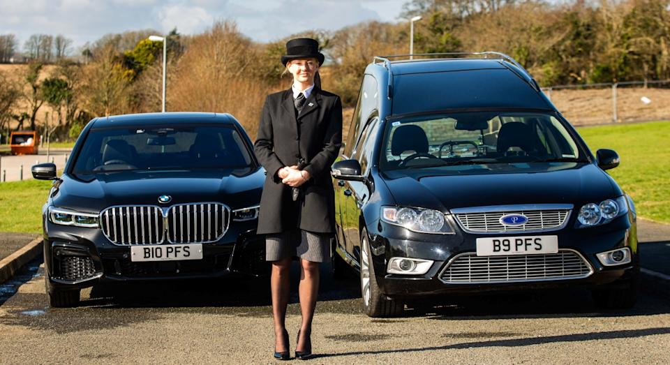 It took Ayesha five years to train to be a funeral director (SWNS)