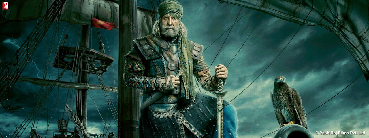 <p>The legendary Amitabh Bachchan plays Khudabaksh. </p>