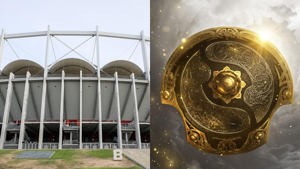 The Arena Nationala in Bucharest will play host to The International 10. (Images: Getty Images, Valve)