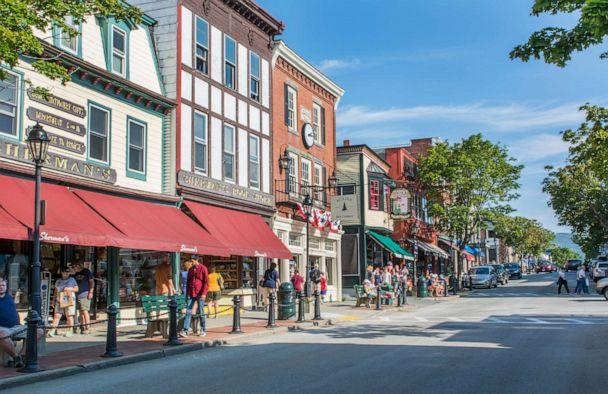 PHOTO: The main street of Bar Harbor, Maine is pictured here. (Danita Delimont/Getty Images/Gallo Images)