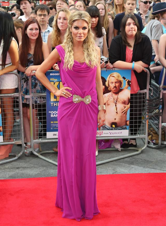Charlotte Jackson The World premiere of Keith Lemon the Film held at the Odeon West End - Arrivals London, England - 20.08.12 Mandatory Credit: Lia Toby/WENN.com