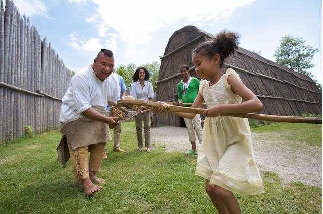 Historical site Sainte-Marie among the Hurons is just one of the places kids in Ontario can get discount admission to this summer. ( Facebook )