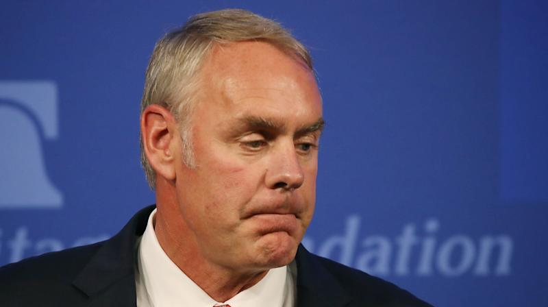 Government Watchdog Probes Ryan Zinke's Use Of Private Planes