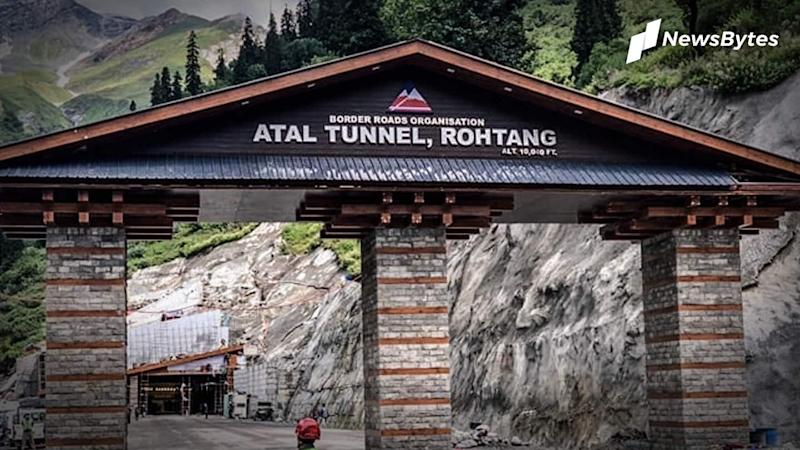 Strategically important Atal Tunnel in Himachal inaugurated by PM Modi