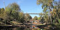 """<p>Greenville (a few hours from both <a href=""""https://www.bestproducts.com/fun-things-to-do/a24679794/things-to-do-in-atlanta/"""" rel=""""nofollow noopener"""" target=""""_blank"""" data-ylk=""""slk:Atlanta"""" class=""""link rapid-noclick-resp"""">Atlanta</a> and Charlotte), is an up-and-comer known for its small-town charm and booming culinary scene. Stroll the downtown area, snap photos in <a href=""""https://go.redirectingat.com?id=74968X1596630&url=https%3A%2F%2Fwww.tripadvisor.com%2FAttraction_Review-g54258-d605036-Reviews-Falls_Park_on_the_Reedy-Greenville_South_Carolina.html&sref=https%3A%2F%2Fwww.redbookmag.com%2Flife%2Fg37132507%2Fup-and-coming-travel-destinations%2F"""" rel=""""nofollow noopener"""" target=""""_blank"""" data-ylk=""""slk:Falls Park"""" class=""""link rapid-noclick-resp"""">Falls Park</a>, see artwork from Jasper Johns and Andrew Wyeth at the <a href=""""https://go.redirectingat.com?id=74968X1596630&url=https%3A%2F%2Fwww.tripadvisor.com%2FAttraction_Review-g54258-d534394-Reviews-Greenville_County_Museum_of_Art-Greenville_South_Carolina.html&sref=https%3A%2F%2Fwww.redbookmag.com%2Flife%2Fg37132507%2Fup-and-coming-travel-destinations%2F"""" rel=""""nofollow noopener"""" target=""""_blank"""" data-ylk=""""slk:Greenville County Museum of Art"""" class=""""link rapid-noclick-resp"""">Greenville County Museum of Art</a>, and tuck into gourmet farm-to-table fare at <a href=""""https://go.redirectingat.com?id=74968X1596630&url=https%3A%2F%2Fwww.tripadvisor.com%2FRestaurant_Review-g54258-d12033095-Reviews-The_Anchorage-Greenville_South_Carolina.html&sref=https%3A%2F%2Fwww.redbookmag.com%2Flife%2Fg37132507%2Fup-and-coming-travel-destinations%2F"""" rel=""""nofollow noopener"""" target=""""_blank"""" data-ylk=""""slk:The Anchorage"""" class=""""link rapid-noclick-resp"""">The Anchorage</a> and a branch of Sean Brock's <a href=""""https://go.redirectingat.com?id=74968X1596630&url=https%3A%2F%2Fwww.tripadvisor.com%2FRestaurant_Review-g54258-d13287750-Reviews-Husk_Restaurant-Greenville_South_Carolina.html&sref=https%3A%2F%2Fwww.redbookmag.com%2Flife%2Fg37132507%2Fup-and"""