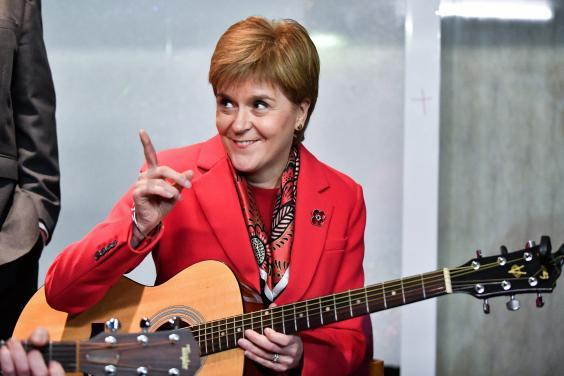 Nicola Sturgeon (Getty)