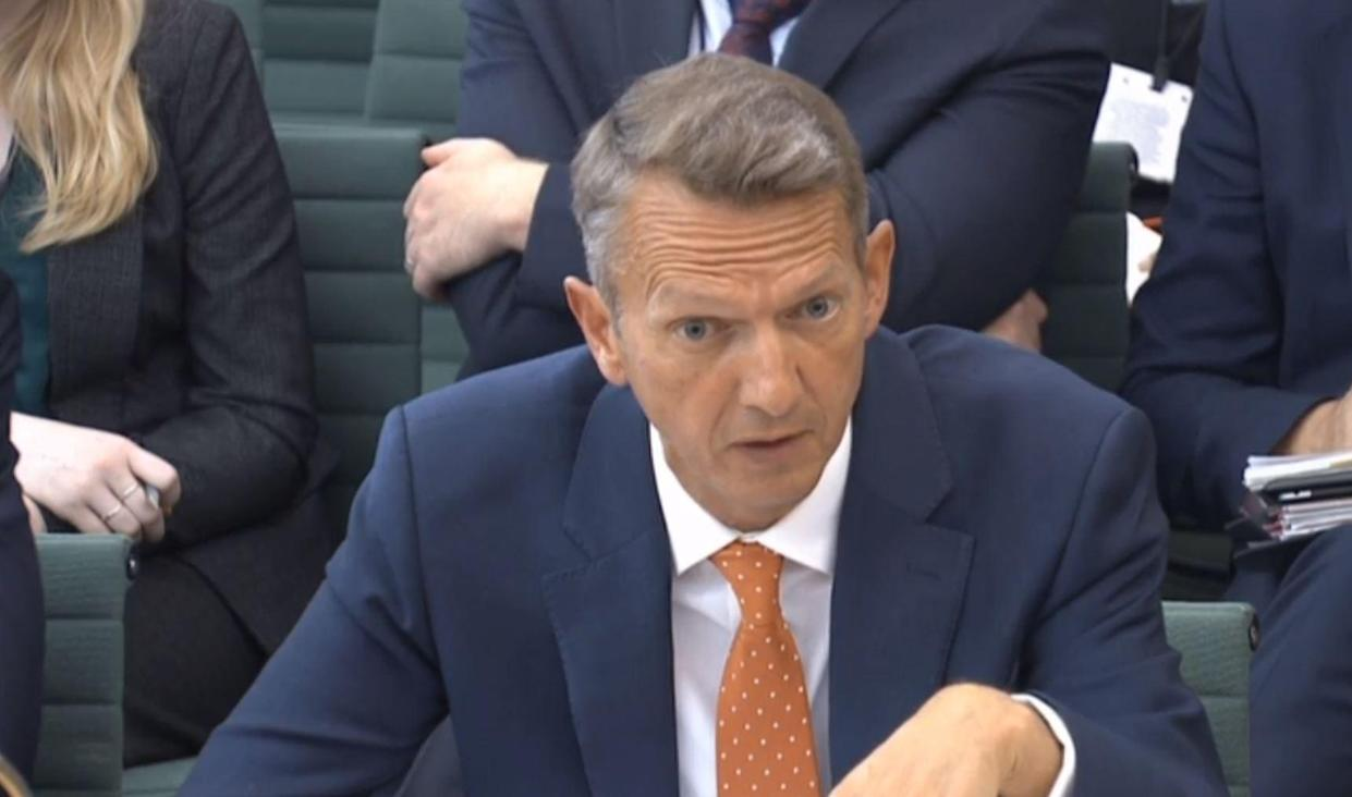 File photo dated 4/9/2019 of Bank of England chief economist and interest rate setter Andy Haldane who is leaving to head up the Royal Society for Arts, Manufactures and Commerce (RSA). Issue date: Tuesday April 13, 2021.