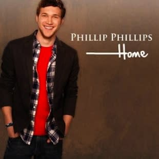 """The album cover for Phillip Phillip's first single, """"Home"""" — Universal Records"""