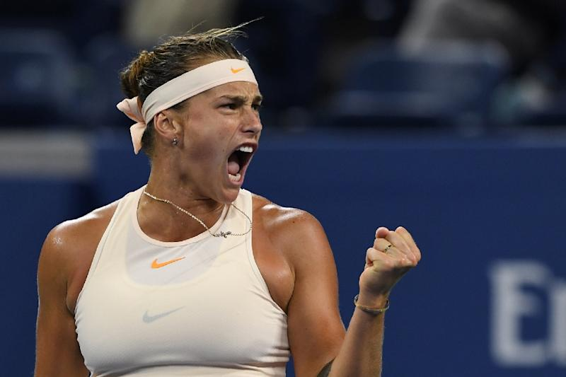 Slugfest Aryna Sabalenka topples two-time Wimbledon champion Petra Kvitova to set up a US Open fourth-round meeting with Naomi Osaka