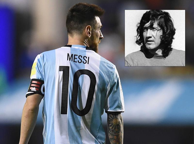 e99cfdb40cb Meet Argentina s forgotten genius who was a world away from modern master  Messi