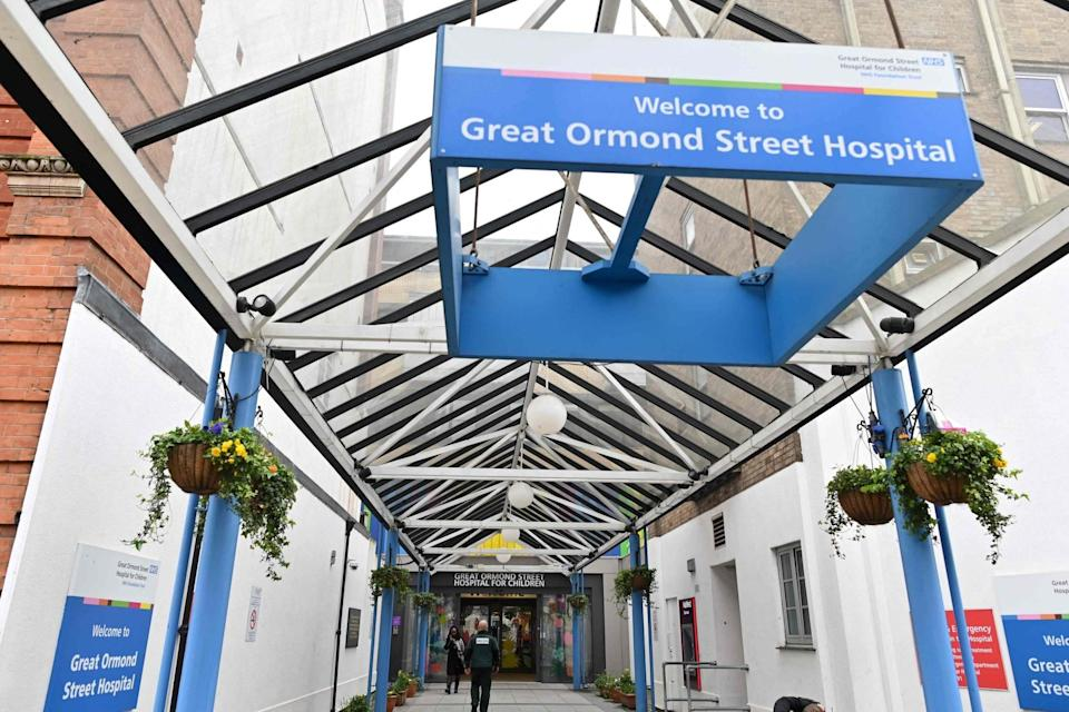 <p>Great Ormond Street Hospital</p> (AFP via Getty Images)