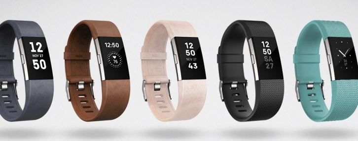 The Fitbit Charge 2 takes a stab at being fashionable.