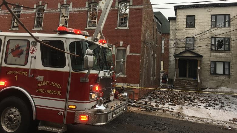 Saint John apartment building destroyed by fire to be torn down