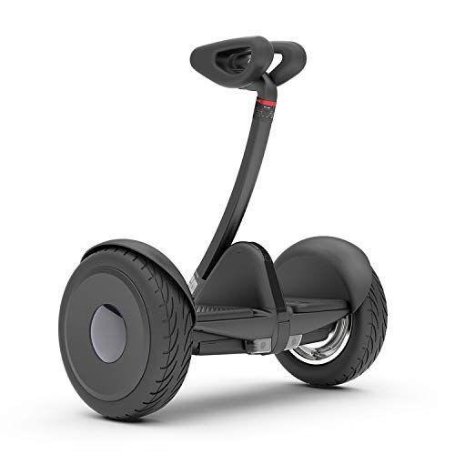 """<p><strong>SEGWAY</strong></p><p>amazon.com</p><p><strong>$489.99</strong></p><p><a href=""""https://www.amazon.com/dp/B07LFD7FMF?tag=syn-yahoo-20&ascsubtag=%5Bartid%7C2140.g.33983876%5Bsrc%7Cyahoo-us"""" rel=""""nofollow noopener"""" target=""""_blank"""" data-ylk=""""slk:Shop Now"""" class=""""link rapid-noclick-resp"""">Shop Now</a></p><p>If you're not ready to get on a self-balancing board just yet, this electric transporter makes the perfect starter hoverboard. It's made with a knee control bar for easier navigation and an app that offers tutorials for new riders. </p>"""