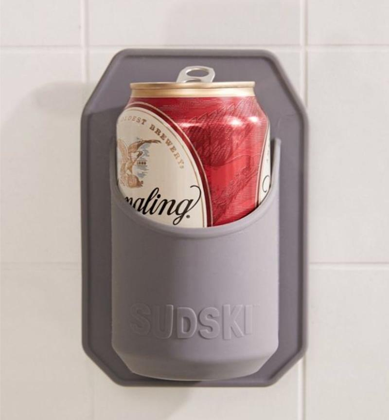 """Because we all have those days. Get it <a href=""""https://www.urbanoutfitters.com/en-ca/shop/sudski-shower-beer-holder"""" target=""""_blank"""" rel=""""noopener noreferrer"""">at Urban Outfitters</a> for $22."""