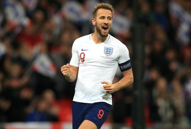 Harry Kane has scored 32 goals in 49 appearances for England