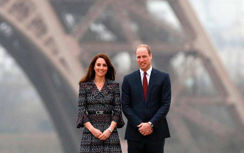 Prince William and Kate - Credit: AFP/AFP