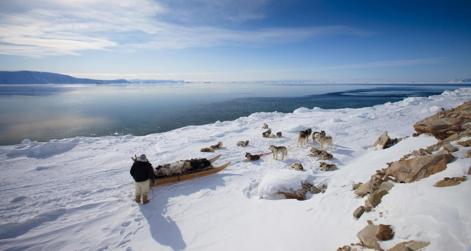 Inuit man in Greenland (Justin Lewis. Stone. Getty Images)