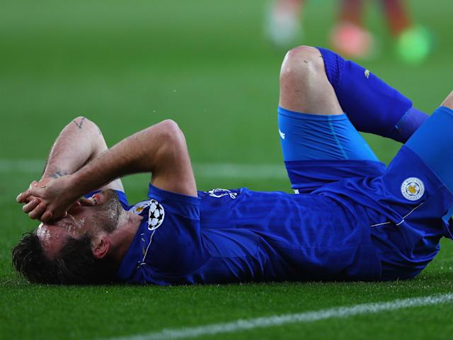 Leicester found it difficult to break down Atletico: Getty