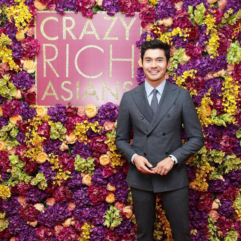 Henry Golding enjoying the company of fashion icons and Hollywood A-listers in New York. — Picture via Instagram/Henry Golding