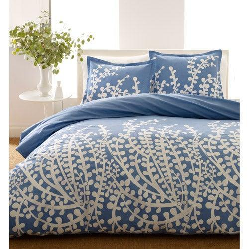 """<br> <br> <strong>City Scene</strong> Branches French Blue Duvet Cover Set, $, available at <a href=""""https://go.skimresources.com/?id=30283X879131&url=https%3A%2F%2Fwww.walmart.com%2Fip%2FCity-Scene-Branches-French-Blue-Duvet-Cover-Set-Full-Queen%2F14794899"""" rel=""""nofollow noopener"""" target=""""_blank"""" data-ylk=""""slk:Walmart"""" class=""""link rapid-noclick-resp"""">Walmart</a>"""