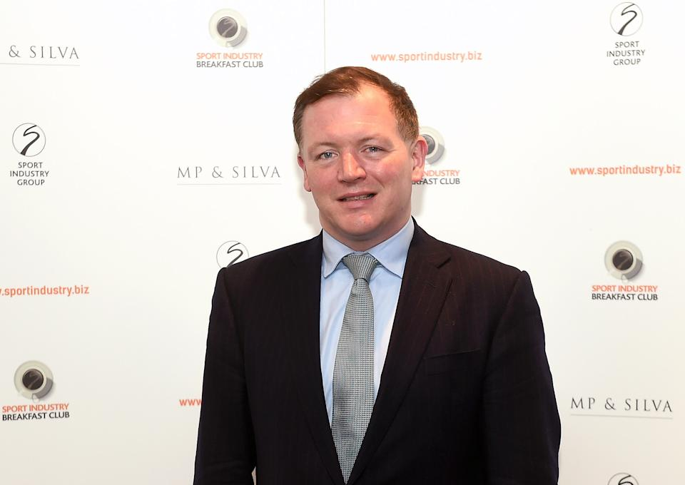 LONDON, ENGLAND - MARCH 10:  Damian Collins MP poses for photographs during the Sport Industry Breakfast Club on March 10, 2016 in London, England. (Photo by Tom Dulat/Getty Images).  (Photo by Tom Dulat/Getty Images)