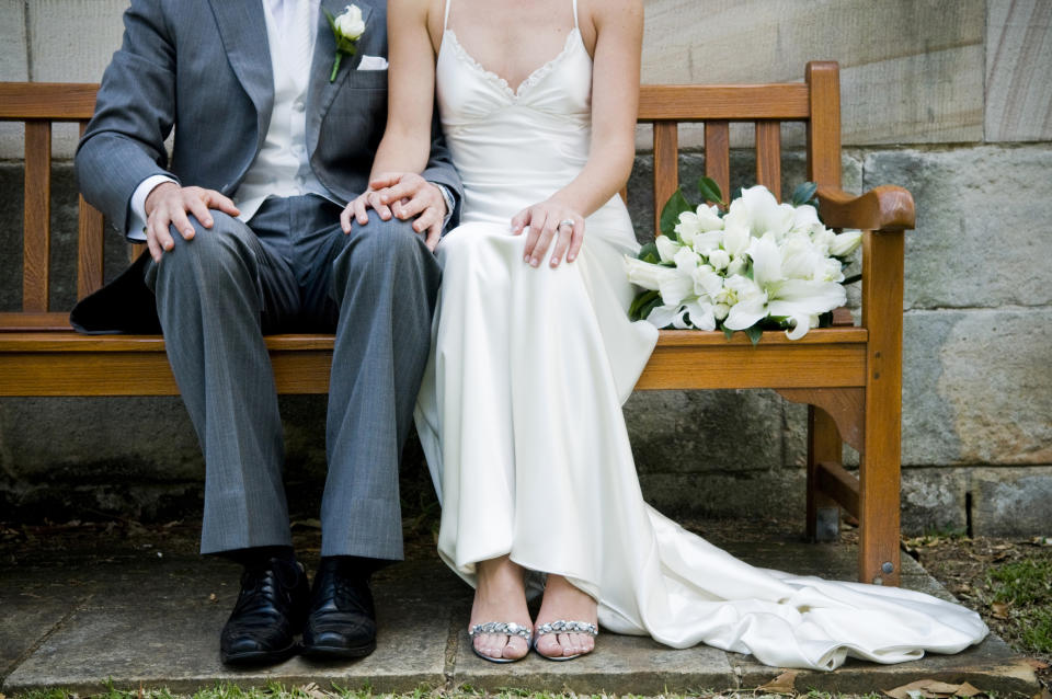 Could we see some rule changes surrounding weddings? (Getty Images)