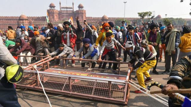 Red Fort siege on Republic day