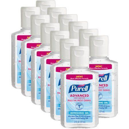 """<p>$23</p><p><a class=""""link rapid-noclick-resp"""" href=""""https://www.walmart.com/ip/PURELL-Advanced-Refreshing-Gel-Hand-Sanitizer-2-fl-oz-Pack-of-12/21288493"""" rel=""""nofollow noopener"""" target=""""_blank"""" data-ylk=""""slk:BUY NOW"""">BUY NOW</a><br></p><p>No one's getting sick in Indiana – hand sanitizer is the most popular item.</p>"""