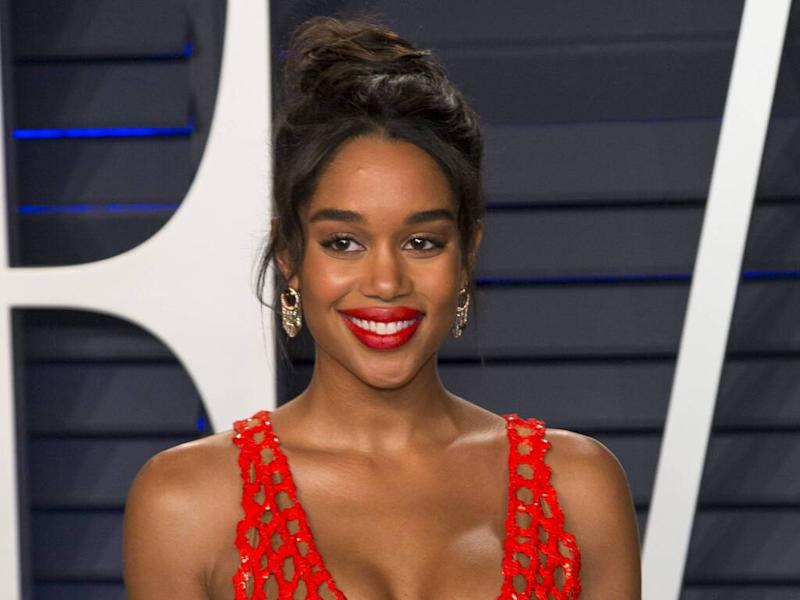 Laura Harrier has a three-minute make-up routine
