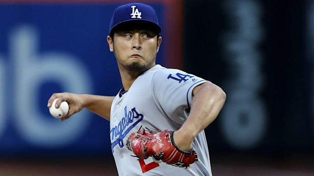"Free agent pitcher <a class=""link rapid-noclick-resp"" href=""/mlb/players/9095/"" data-ylk=""slk:Yu Darvish"">Yu Darvish</a> is reportedly considering five teams. (AP)"